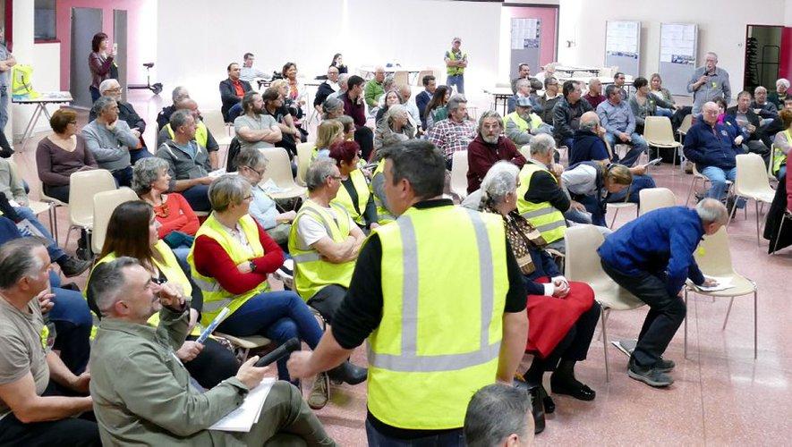 Un débat des Gilets jaunes du Volvestre au sein de la commune (Dépêche 21/03/19)