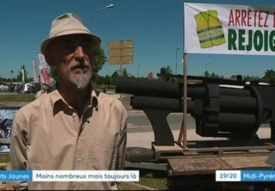 France 3 Midi-Pyrénées: 1er juin sur le rond point de Carbonne (31390)